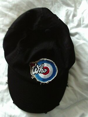 The Who Hits 50 New Cotton Baseball Cap 2014 Official Tour Merchandise Free Post