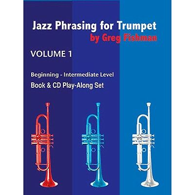 Jamey Aebersold Jazz Phrasing For Trumpet Book and CDs