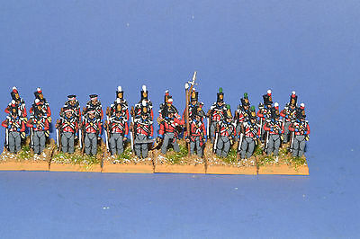 15mm Napoleonic painted British Line Infantry .Blue Facings BR02