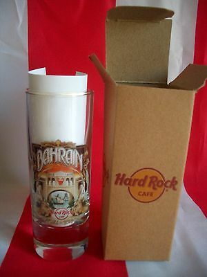 HRC Hard Rock Cafe Bahrain City Tee Shot Glass Schnapsglas New