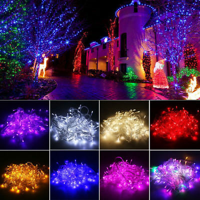 10M/20M/30M Christmas Wedding Xmas Party Decor Outdoor Fairy String Light Lamp