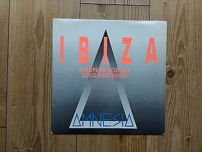 "Amnesia ‎– Ibiza : Debut 12"" 1989 : NEW BEAT / BALEARIC / OLD SKOOL CLASSIC"