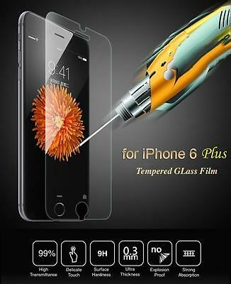100% Genuine Tempered Glass Film Screen Protector For Apple iPhone 6S Plus 5.5