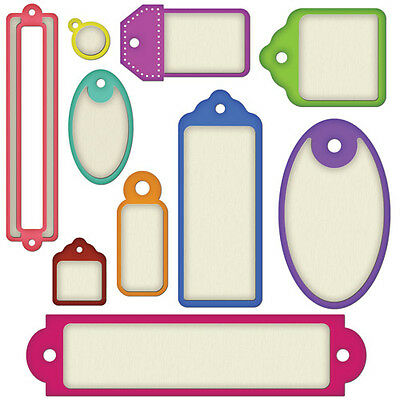 SPELLBINDERS  WIZS4-367 -  BACK to BASICS TAGS