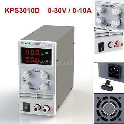 New Adjustable DC 30V 10A Digital Regulated Power Supply Precision Variable P5G9