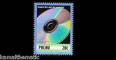 Palau MNH, Sony first publicly demonstrated an optical digital audio disc i  -M4