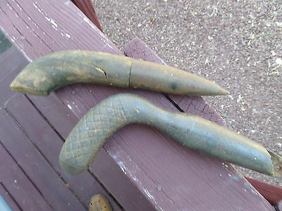 Antique William Johnson Cast Iron Dibble Tool +One Wood Handled Metal Tip Dibble