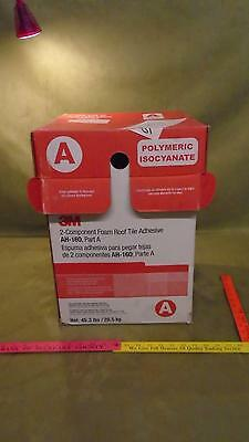 3M Polymeric 2-Component Spray Foam Roof Tile Adhesive NIB AH 160 Part A only