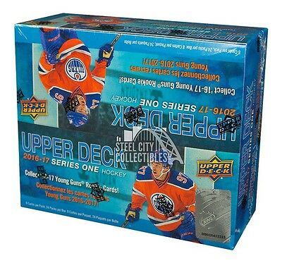 2016-17 Upper Deck Series 1 Hockey 24ct Retail Box