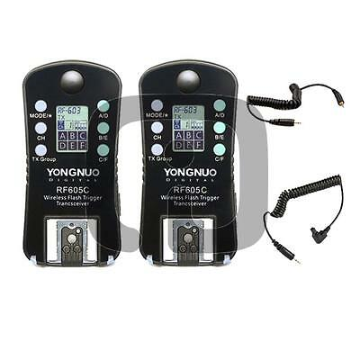 Yongnuo  RF-605 C1 C3 Wireless Flash Trigger per Canon Eos