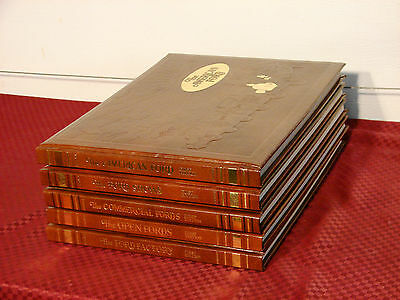 1st EDITION SIGNED LORIN SORENSEN FORDIANA FORD 5 BOOK SET