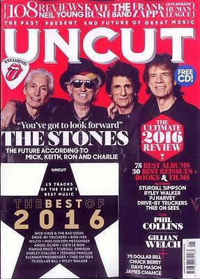 Uncut Magazine January 2017 (Rolling Stones, Chuck Berry, Gillian Welch) New