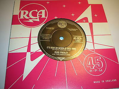 Elvis Presley - It's Now Or Never (O Sole Mio) / Make Me Know I....mint/unplayed