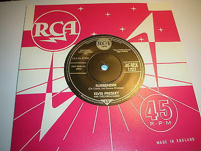 Elvis Presley - Surrender / Lonely Man ....mint/unplayed