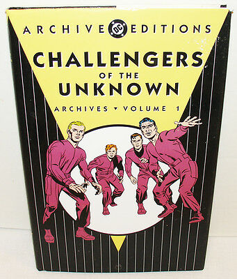 Dc Challengers Of The Unknown Archives Vol. 1 Hc W/dj