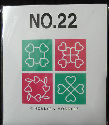 Brother / Babylock Embroidery Design Card Number 22  New And Sealed - Quilting