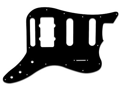 PAWN SHOP BASS VI BLACK PG f. FENDER® 3PLY BWB USA HANDCRAFTED QUALITY PICKGUARD