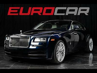 2014 Rolls-Royce Other Base Coupe 2-Door 2014 Rolls-Royce Wraith, STARLIGHT HEADLINER, WRAITH PACKAGE, STUNNING