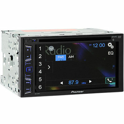 Pioneer AVH-290BT Double DIN Bluetooth Car Stereo (FREE upgrade to AVH-200EX)
