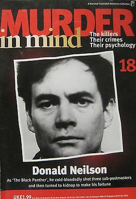 Murder in Mind Issue 18 - Donald Neilson 'the Black Panther'