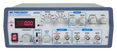 BK 4003A 4 MHz Sweep Function Generator with 5 digit Red LED