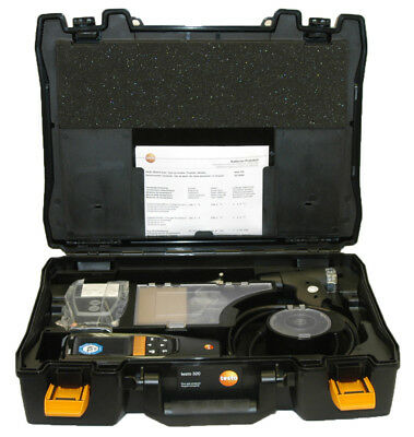 Testo 320 Combustion Analyzer Kit with Printer (0563 3220 71)