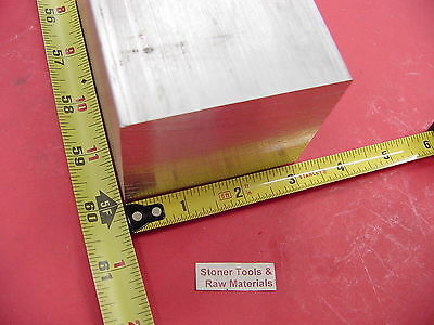 "3"" X 3"" ALUMINUM 6061 SQUARE SOLID BAR 60"" long T6511 Flat Mill Stock"