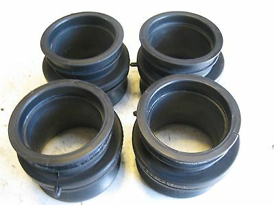 Suzuki Gsf600 Gsf 600 Bandit N S 2000-2004 Airbox To Carb Inlet Rubbers X 4