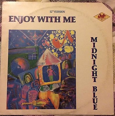 MIDNIGHT BLUE - Enjoy With Me 12""
