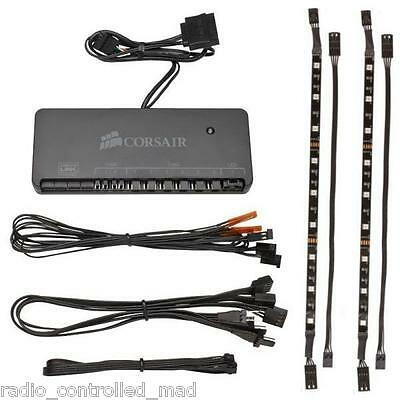 NEW Corsair Commander Mini CL-9011108-WW & RGB LED Lighting Strip Kit CL-8930001