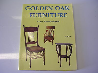 Schiffer Collector Book Golden Oak Furniture by Velma Susanne Warren Price Guide