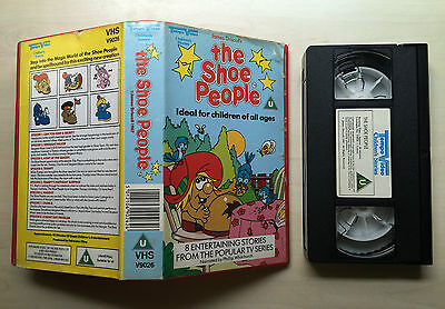 The Shoe People - Vhs Video