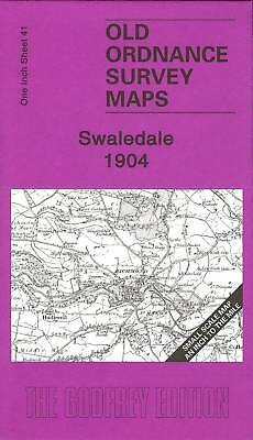 Map Of Swaledale 1904