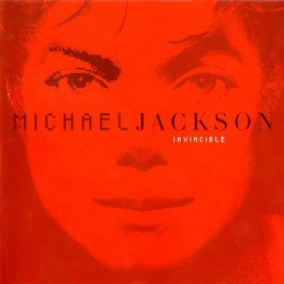 Michael Jackson Invincible w/ Red Cover Artwork MUSIC AUDIO CD Limited Color Ed.