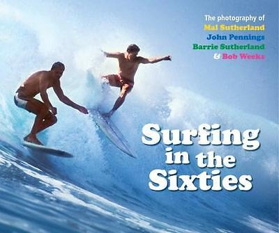 NEW Surfing in the Sixties By Barrie Sutherland Hardcover Free Shipping
