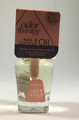 Sally Hansen Color Therapy Argan Oil Formula Nail and Cuticle Oil 0.5 oz