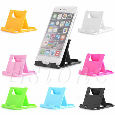 Lot Universal Folding ABS Charming Holder Stand Mount For iPhone iPad Tablet