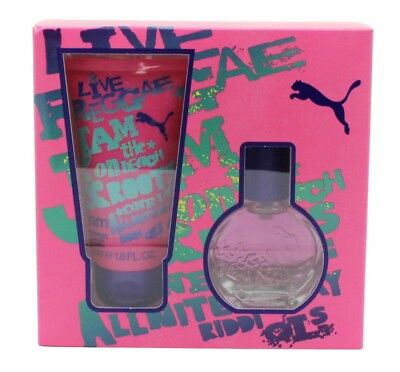 Puma Jam Woman Gift Set 20Ml Edt + 50Ml Shower Gel - Women's For Her. New
