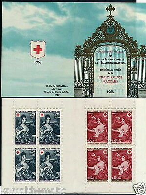 France 1968 Booklet, Red Cross  - R37