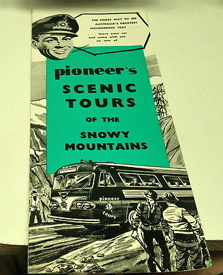 1962 & 1963  PIONEER SCENIC TOURS Brochures ANSAIR CLIPPER BUS
