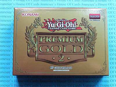 Yu-gi-oh PGL2 Gold 2 Pack 2015 Sealed Box English 1st Edition New