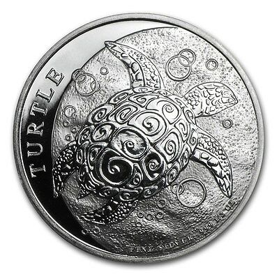 NIUE 1 Dollar Argent 1/2 Once Tortue 2016 - 1/2 Oz silver coin Turtle