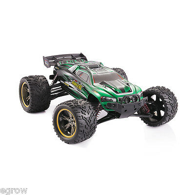 1/12 Scale RC Truck 2.4Ghz 2WD Electric Racing Car Remote Control Lipo Battery