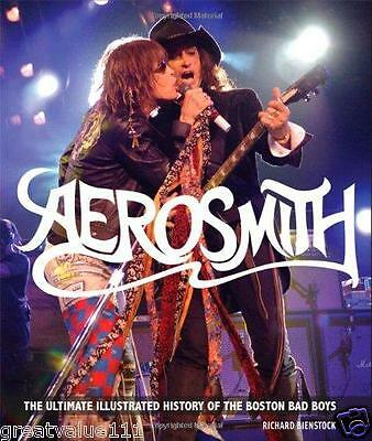 Aerosmith : The Unofficial Illustrated History.NEW Book. 2011.Great unseen pics.