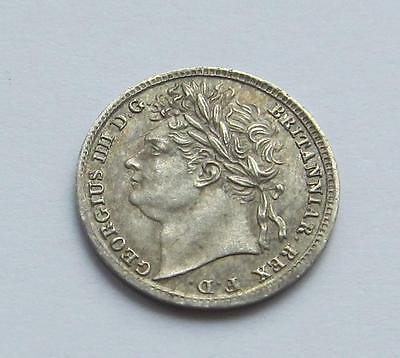 George IV Maundy Penny dated 1822 - Excellent collectable coin close Unc
