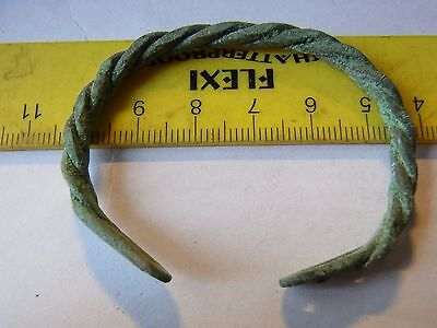 Ancient Bronze Casting Bracelet