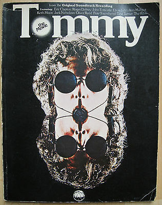 The Who Tommy Vintage Song Book Rare 1975