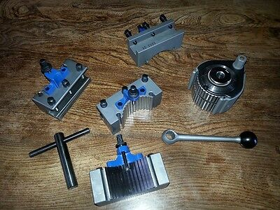 Lathe 40 Position Professional Multifix (A1) type = Quick Change Tool Post Kit