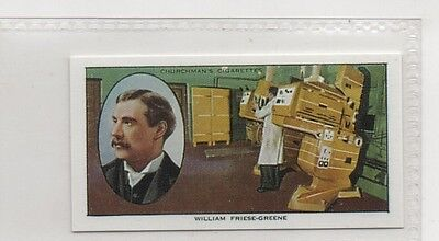 #20 William Friese-Green - Pioneers Reproduction Card
