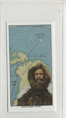 #35 Commander Peary - Pioneers Reproduction Card